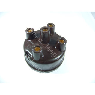 Willys MB A Distributor Cap assembly brown