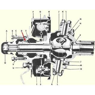 Seal Tested Automotive Parts Wheel Bearing