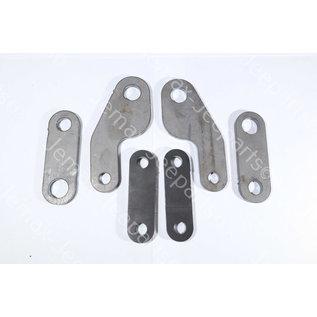Willys MB Hand brake linkage set