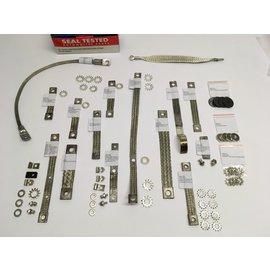 Seal Tested Automotive Parts Bond Strap Complete Set