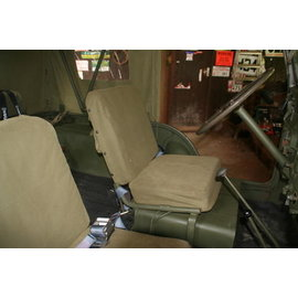 Canvas M38A1 Seat cushion cover set