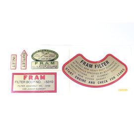 Stencils & Stickers Fram sticker