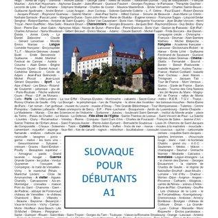 Slovaque pour Débutants FR-SK(CEF-A1)