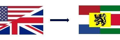 De l'anglais vers le néerlandais