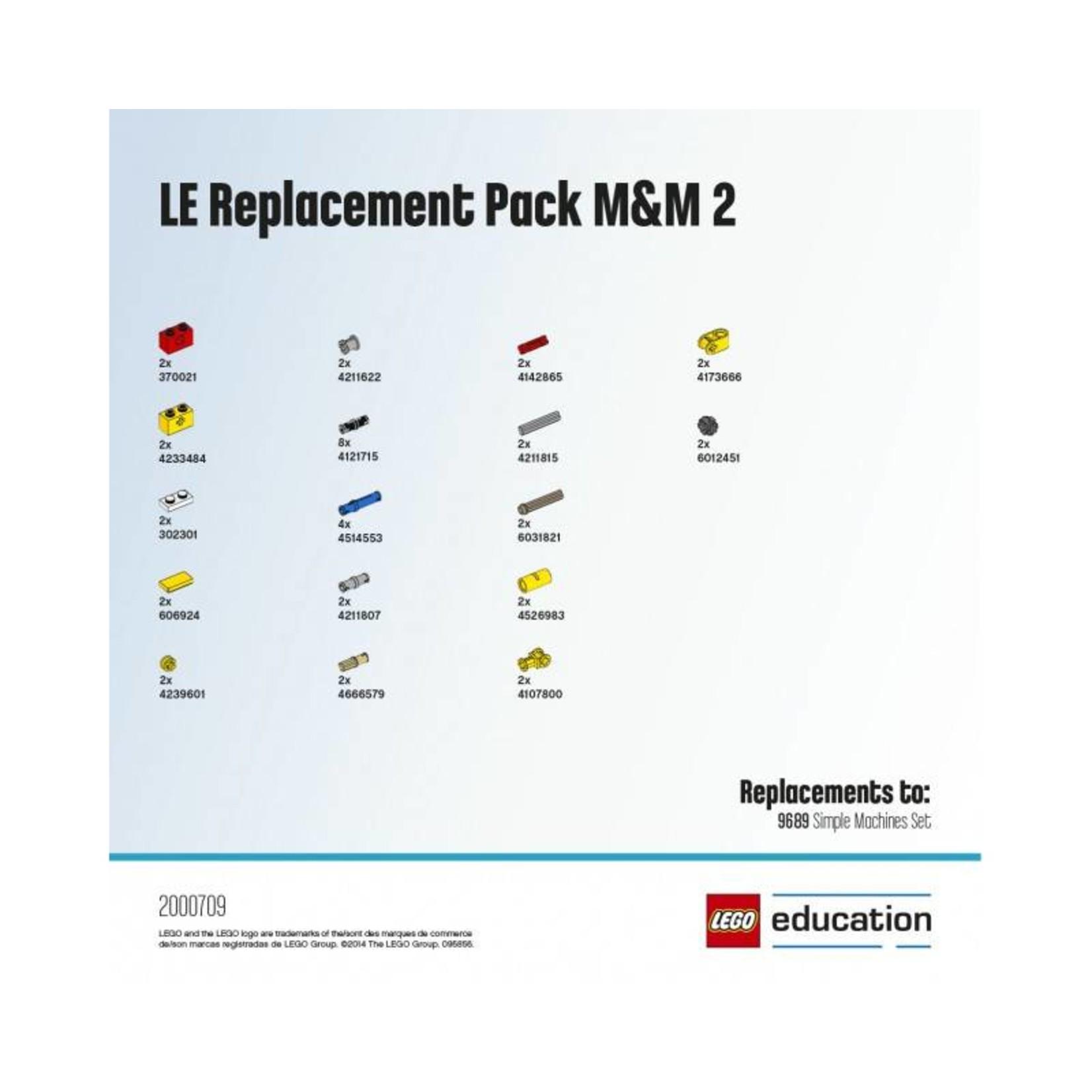 LEGO® Education Reserve onderdelen voor set 9689
