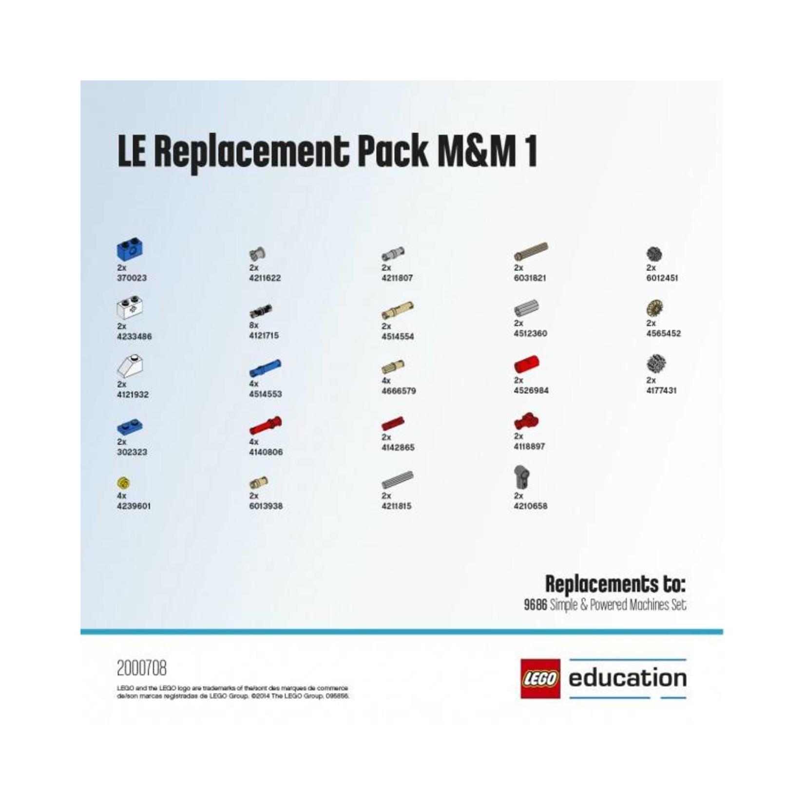 LEGO® Education Reserve onderdelen set 9686