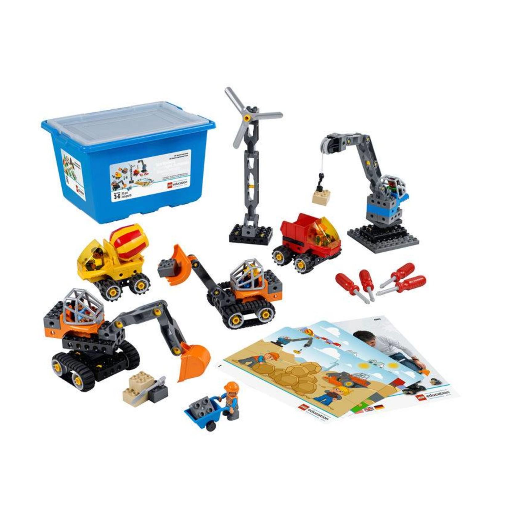 LEGO® Education  Ensemble de machines et de mécanismes