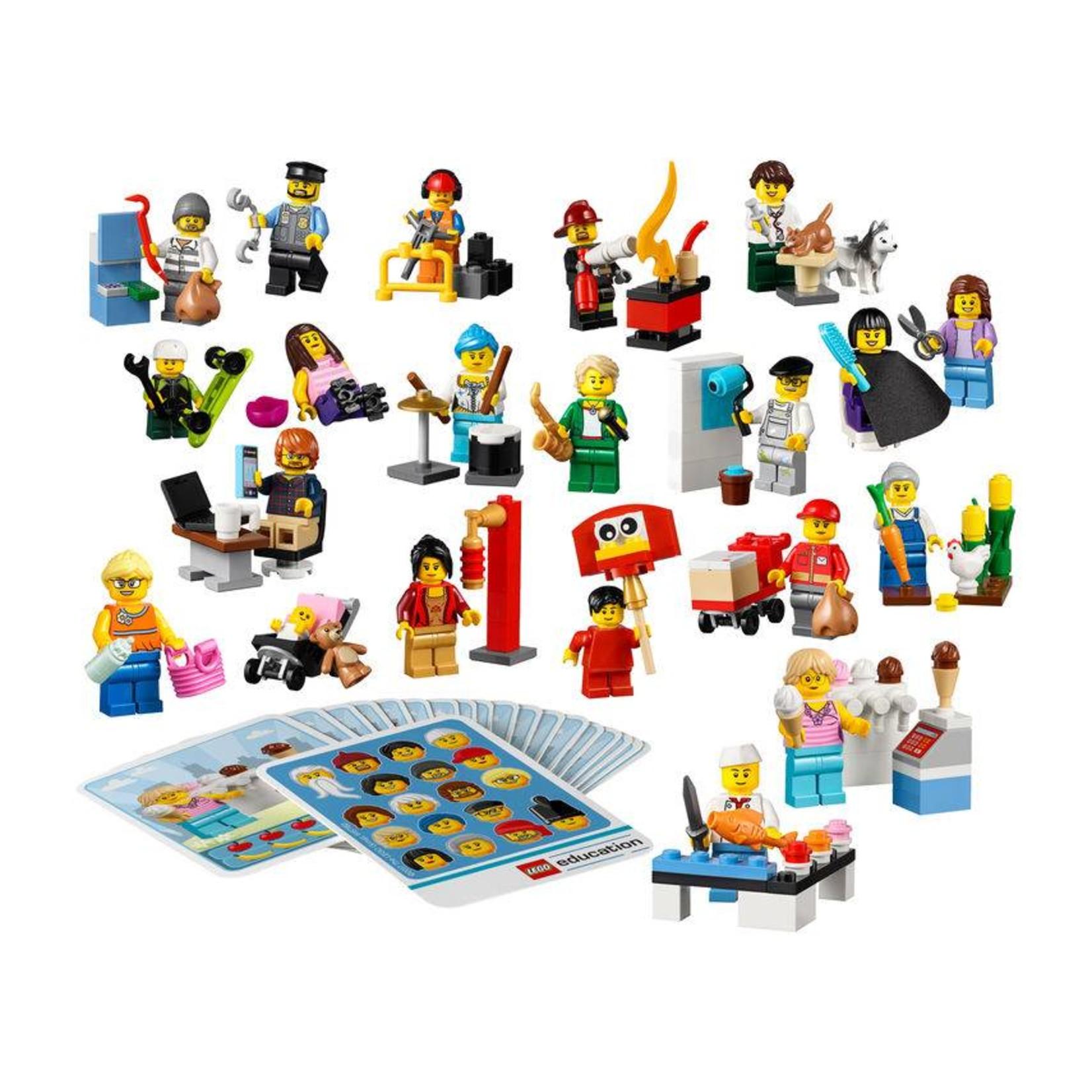 LEGO® Education Community Minifigure Set