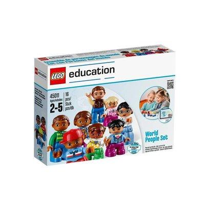 LEGO Education Ensemble de Personnages du Monde