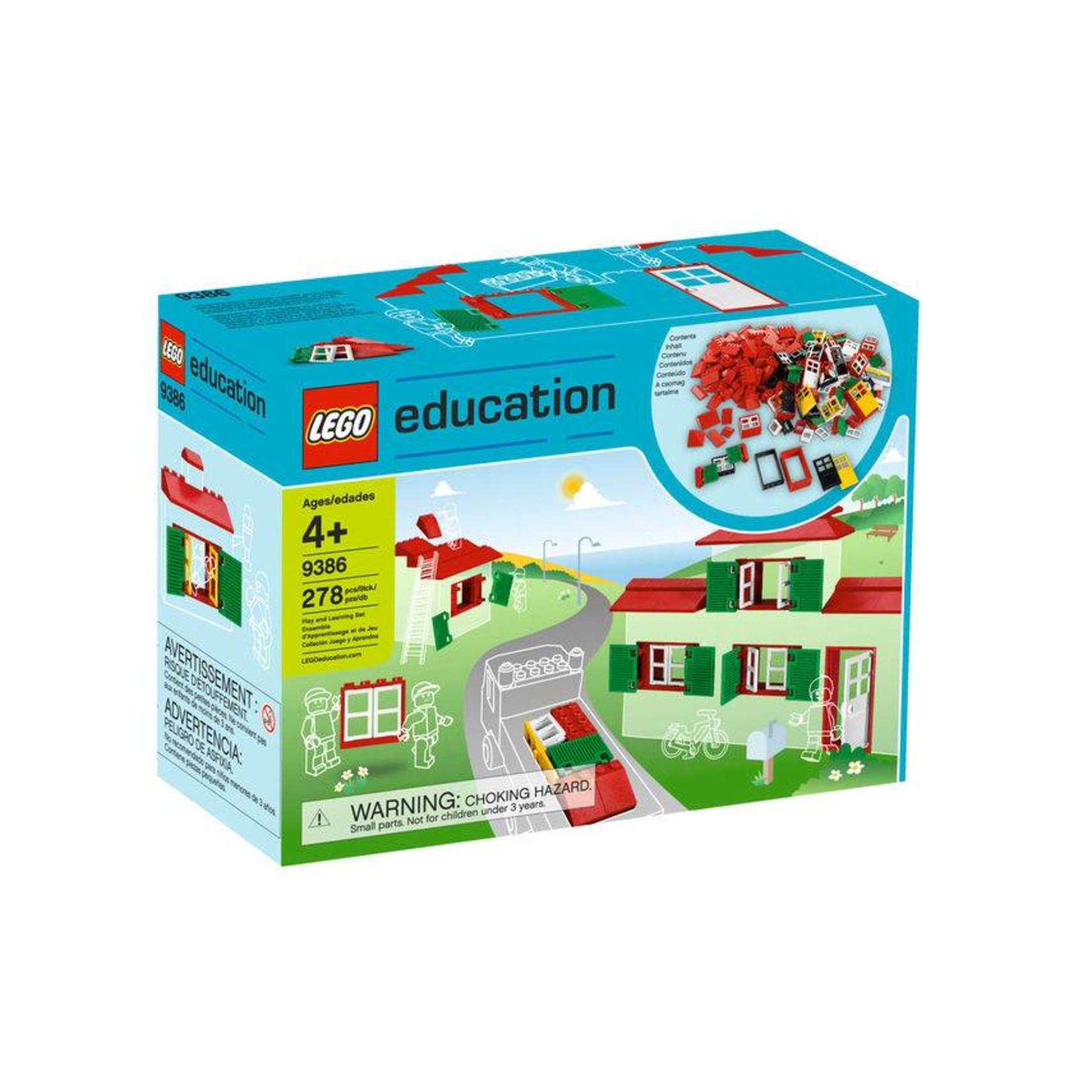 LEGO® Education Deuren, Vensters en Dakpannen Se