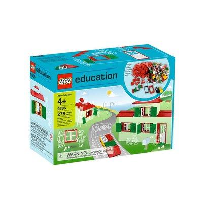 LEGO Education Doors, Windows & Roof Tiles Set