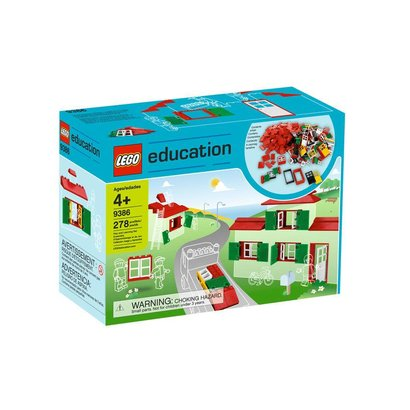 LEGO Education Portes, fenêtres et tuiles de toit