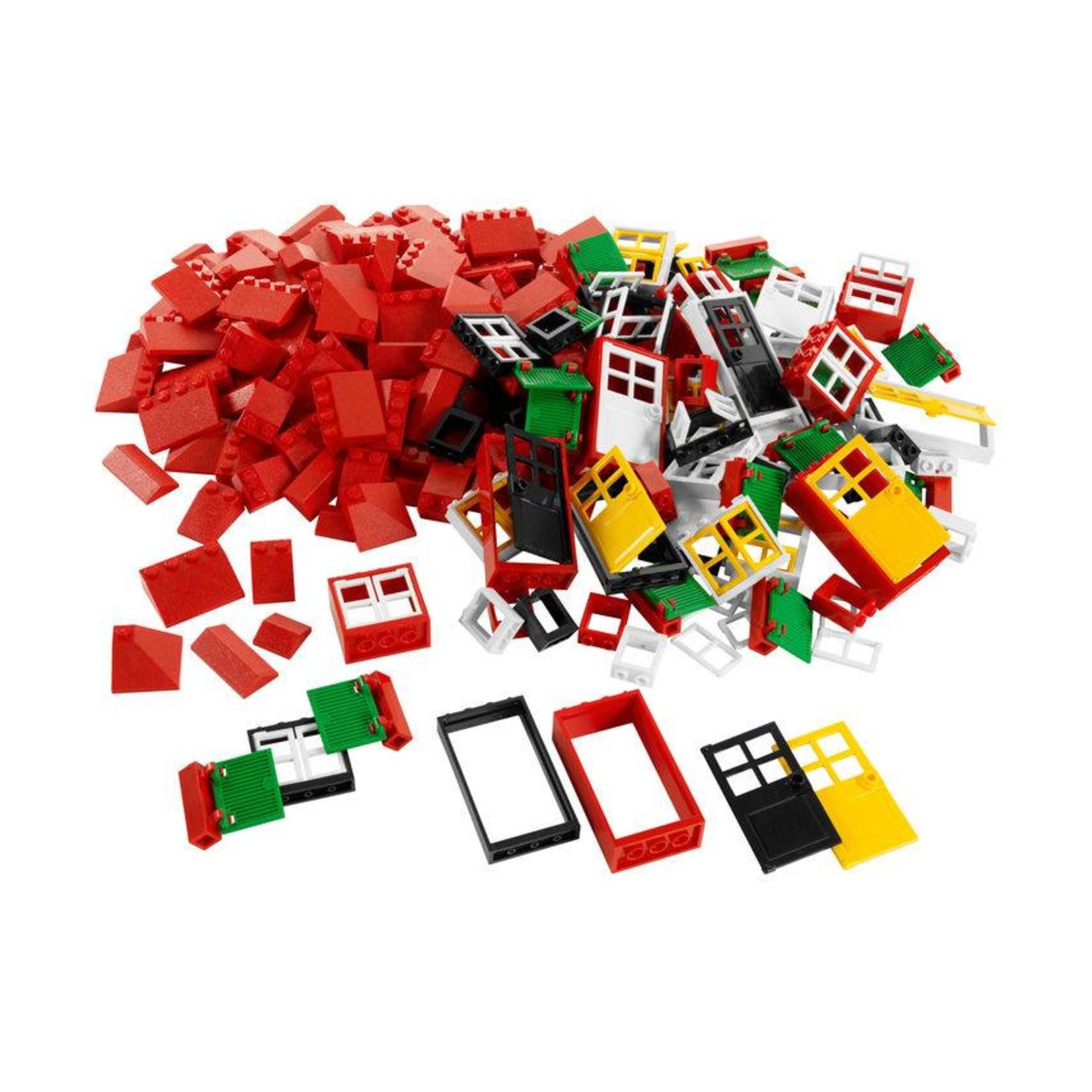 LEGO® Education Portes, fenêtres et tuiles de toit