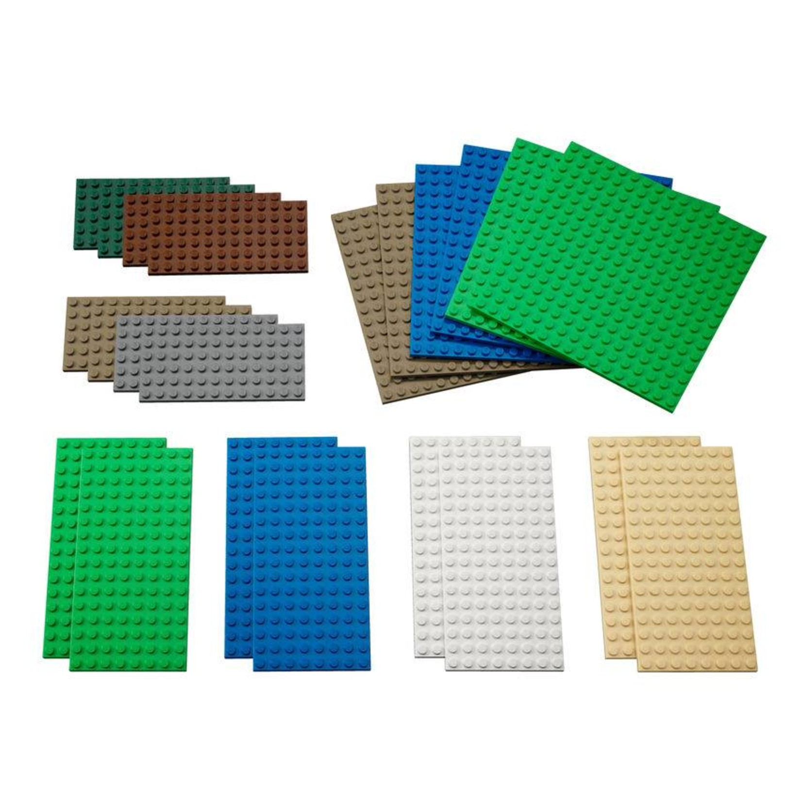 LEGO® Education  Kleine LEGO®  Bouwplaten