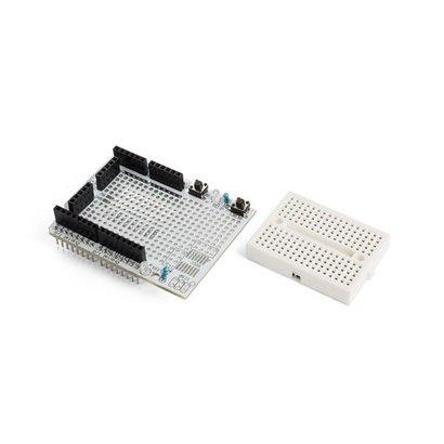 Velleman Prototyping board with mini breadboard for ARDUINO® UNO