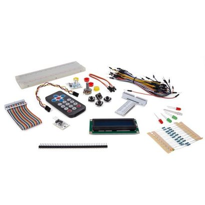 Set of electronic parts for Raspberry Pi®