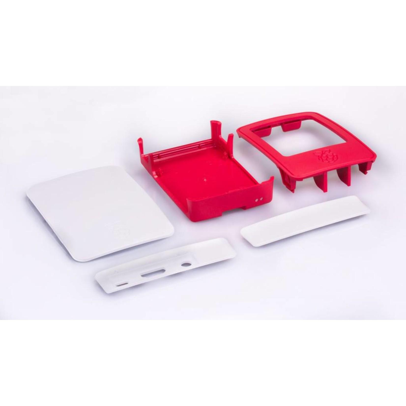 Raspberry Pi Behuizing voor Raspberry Pi 3B(+)  - Rood/Wit