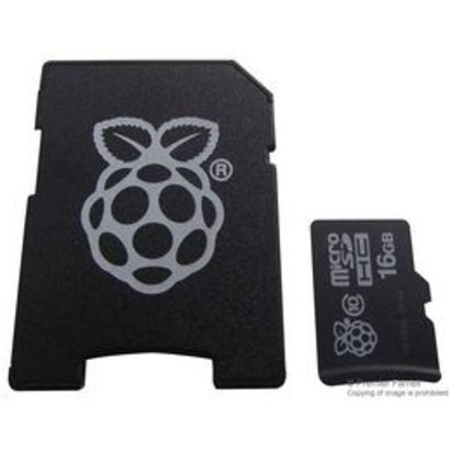 Raspberry Pi SD card 16GB incl. NOOBS