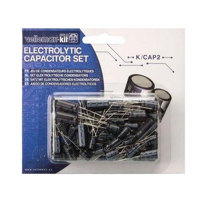 Set Elektrolytische condensators