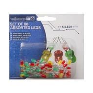 Velleman Assortment of 80 LEDs