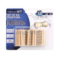 Set of 610 resistors (E12 series)