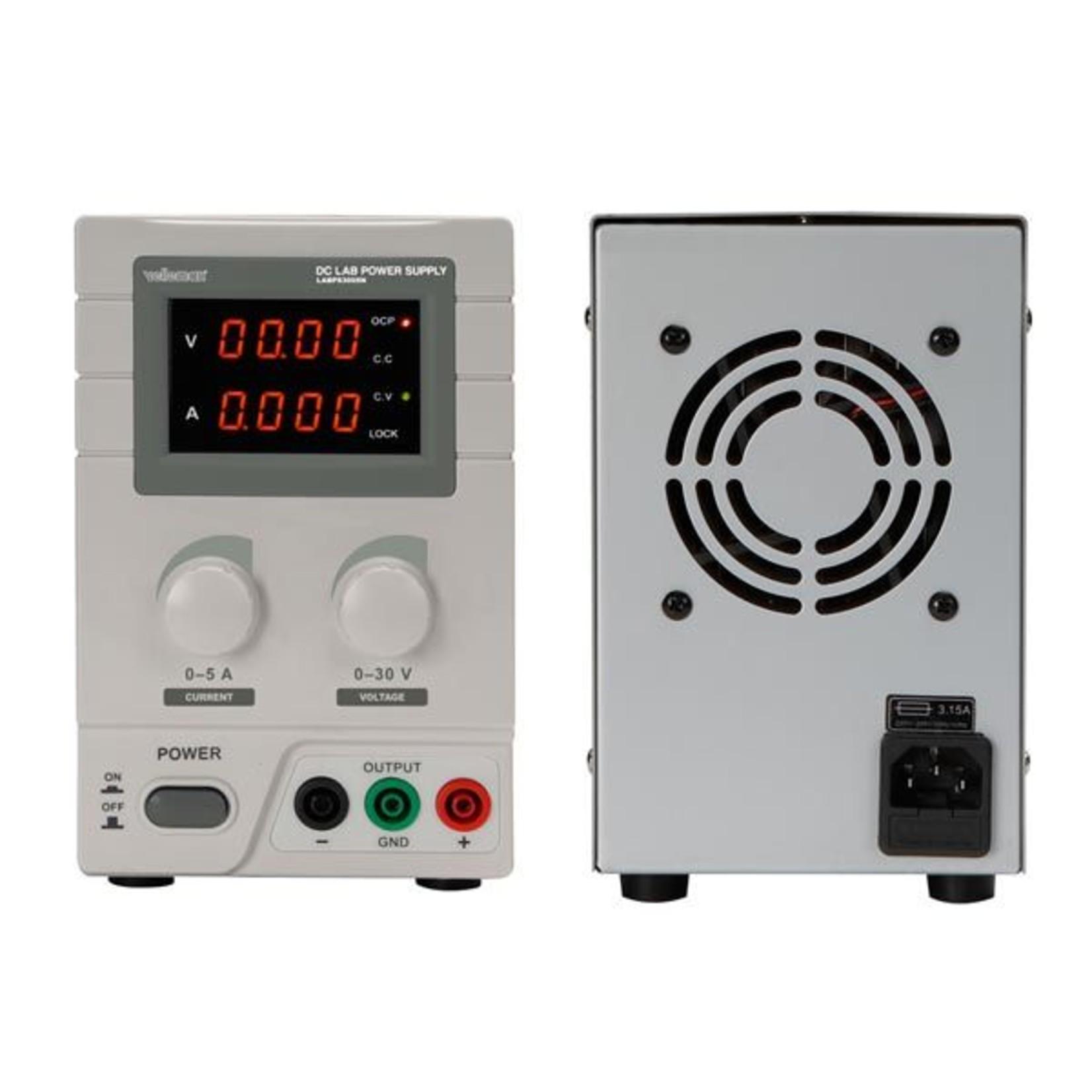 Velleman LABPS3005N Labo voeding 0-30 VDC / 0-5 A