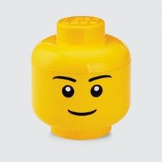 Opbergbox LEGO hoofd jongen - 24x27cm