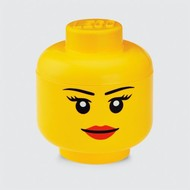 Storage box LEGO head girl - 24x27cm