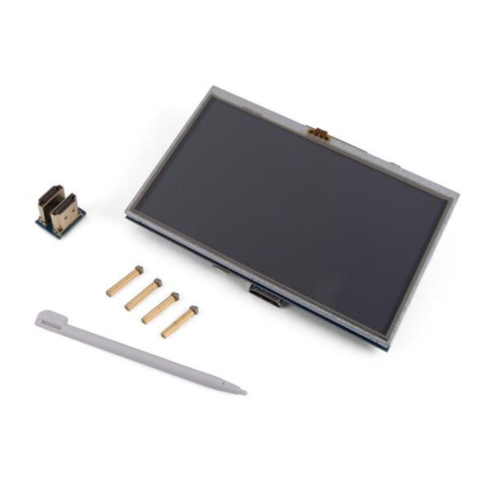 "Velleman HDMI-B Touchscreen voor Raspberry PI® - 5"" - 800 x 480"