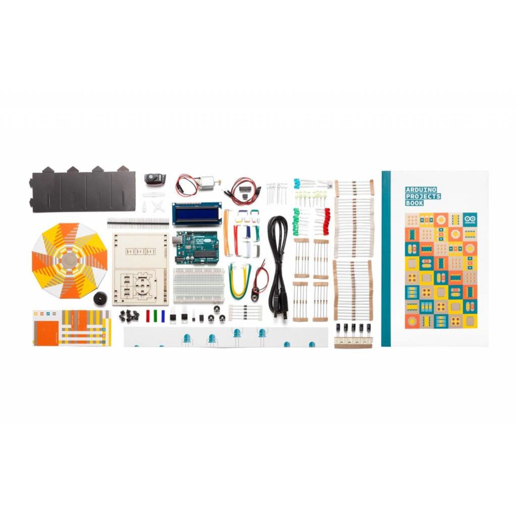 ARDUINO ARDUINO® Starter Kit klaspakket [English]