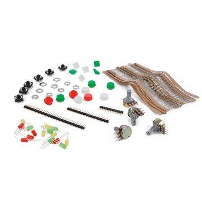 Velleman kit met accessoires + transparante opbergdoos