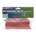 Velleman HEAT-SHRINKABLE TUBE KIT - 40pcs- RED