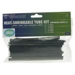 Velleman HEAT-SHRINKABLE TUBE KIT - 40pcs- BLACK
