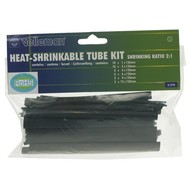 Velleman LOT DE GAINES THERMORETRACTABLES - 40pcs-NOIR