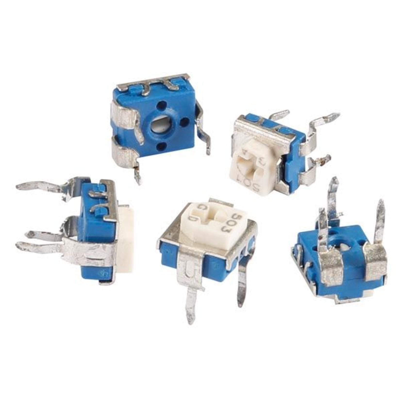 Set met trimpotentiometers