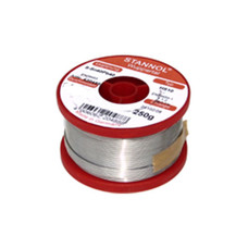 Stannol Soudure HS10 60/40 0.6mm 250gr