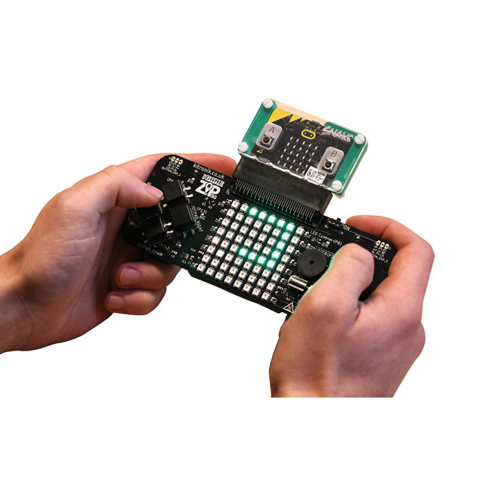 Kitronik :GAME ZIP 64 pour BBC micro:bit
