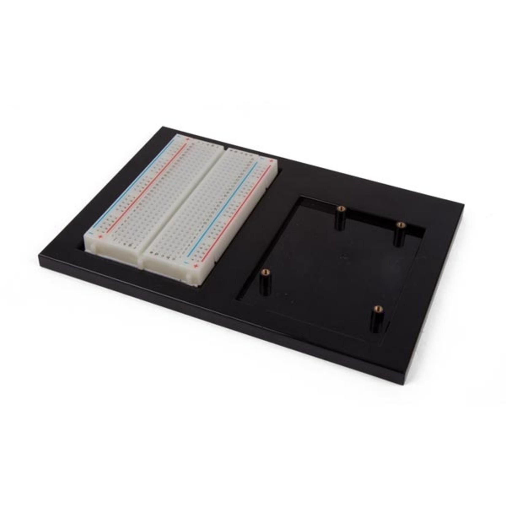 Velleman Support de projet pour Arduino UNO + platine d' expérimentation