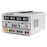 Velleman Power Supply - 2 x 0-30 VDC / 0-3 A + 5 VDC fixed / 3 A