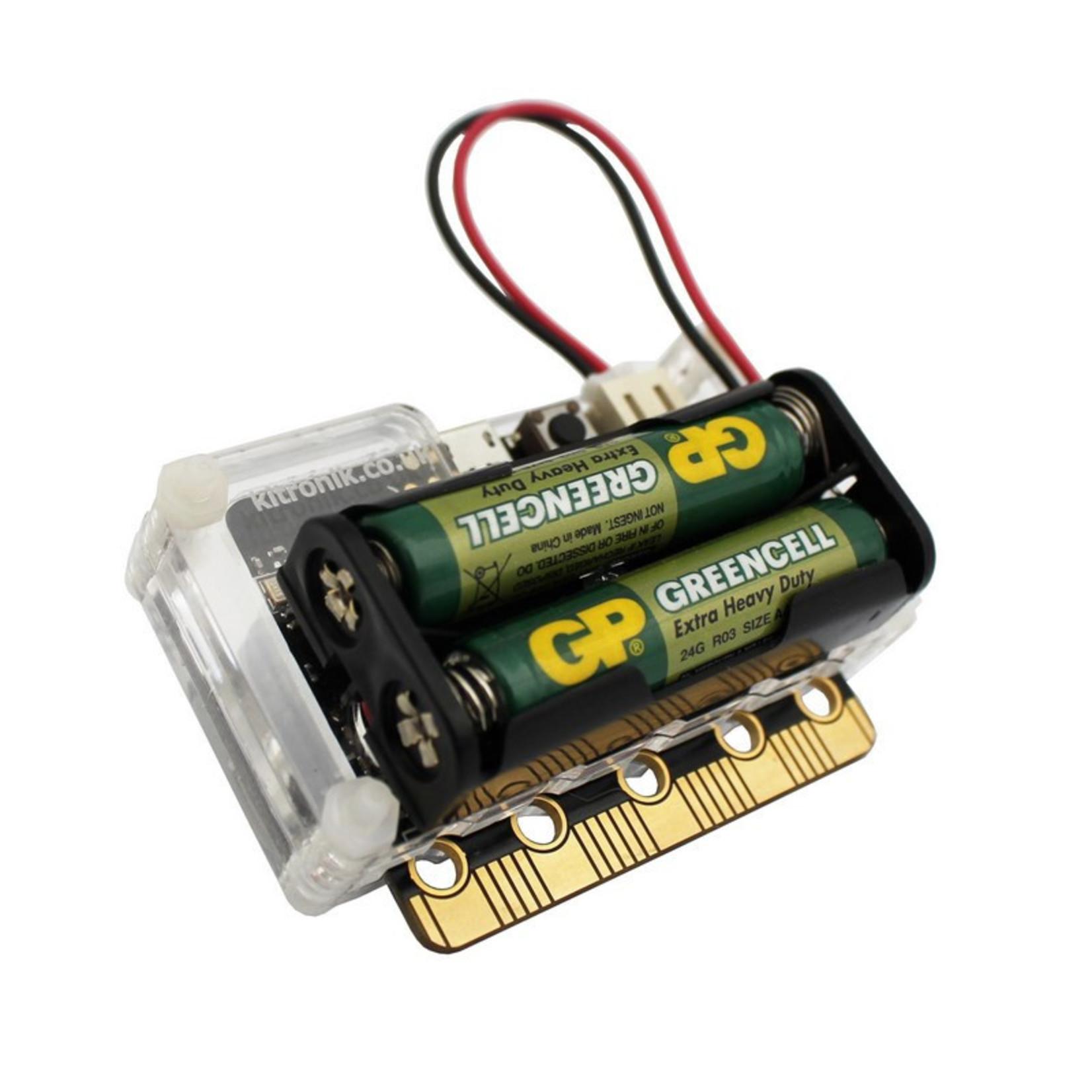 Kitronik MI:pro Protector Case for the BBC micro:bit - Green