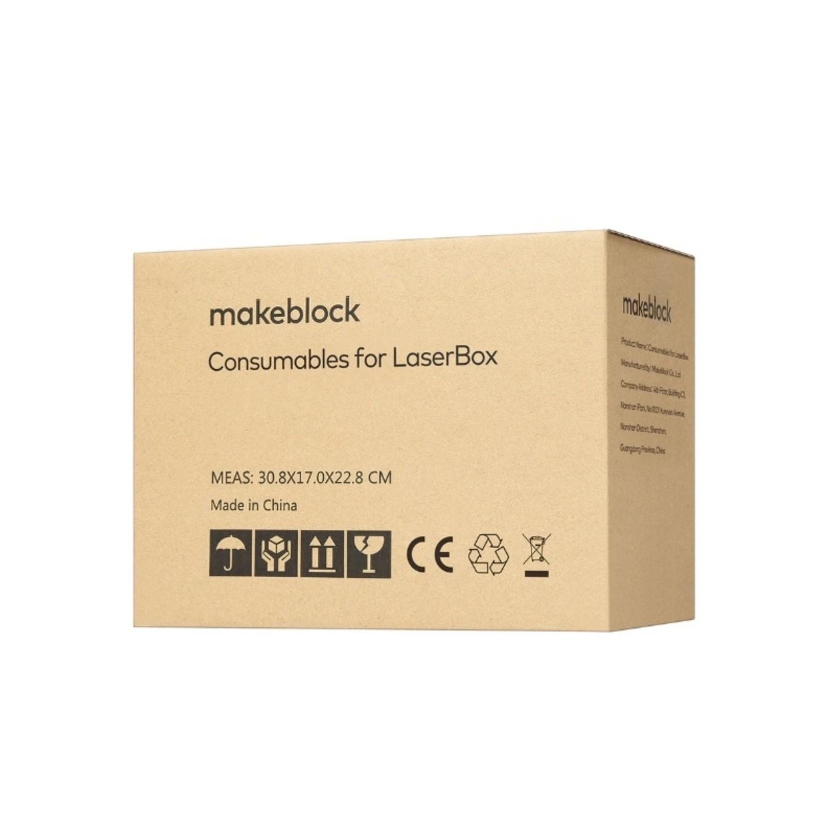 makeblock Laserbox Accessories 3mm Basswood(56 pcs)