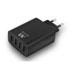 Velleman CHARGEUR USB INTELLIGENT 4 PORTS - 5.4 A