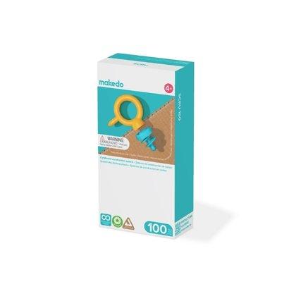 makedo Set d' Extension 100 vis