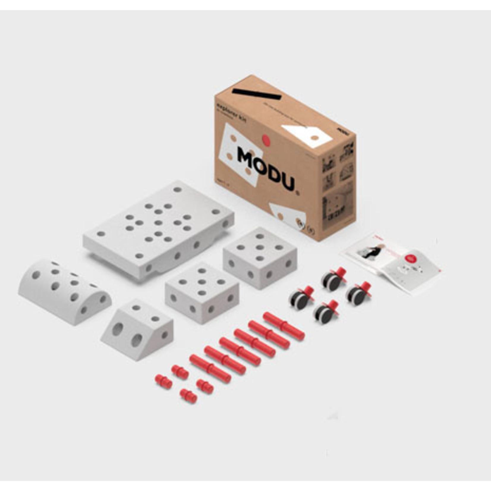 MODU Explorer kit rood