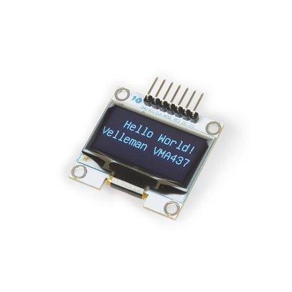 "Velleman 1.3"" OLED-display voor ARDUINO® (SH1106 DRIVER, SPI)"