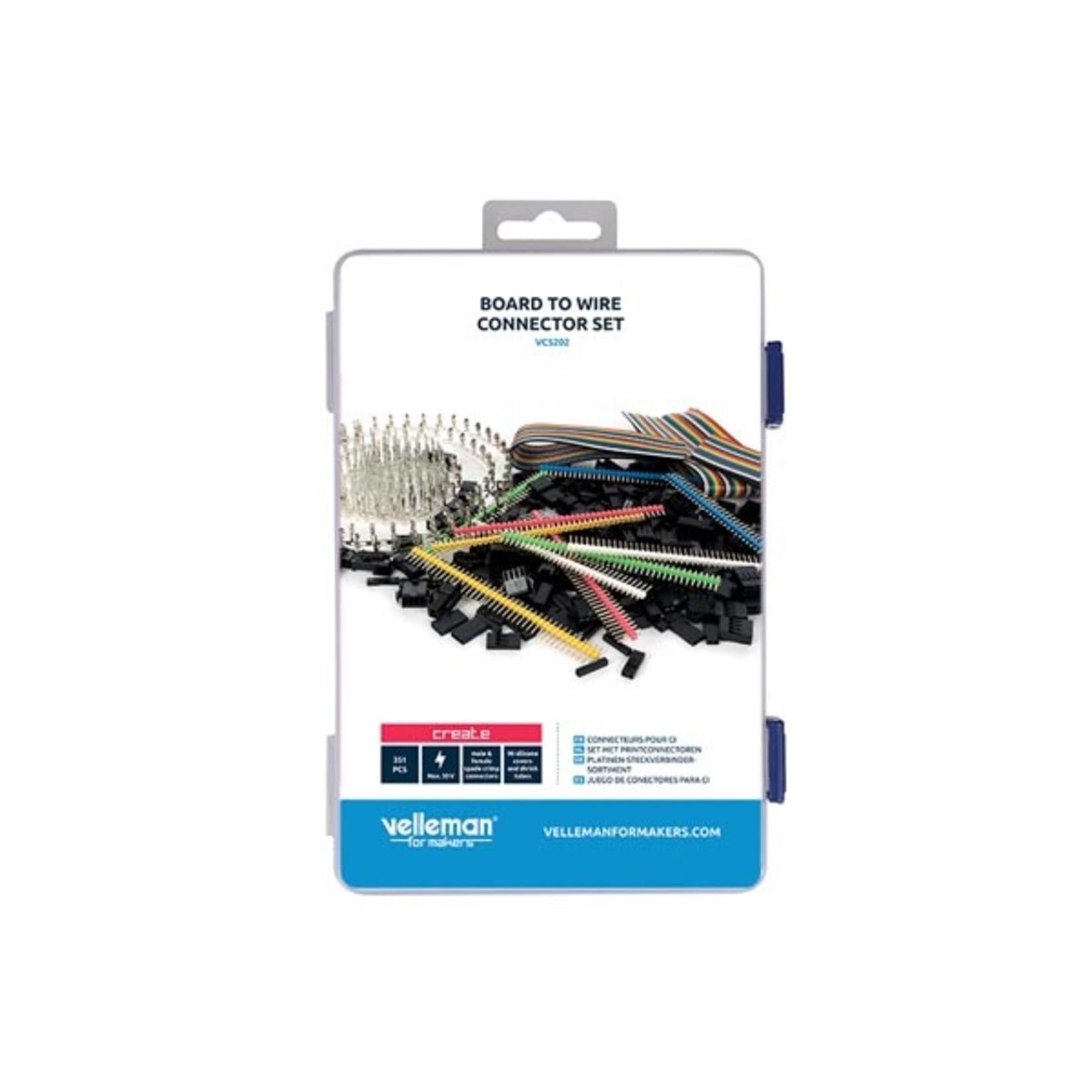 Velleman Set met printconnectoren
