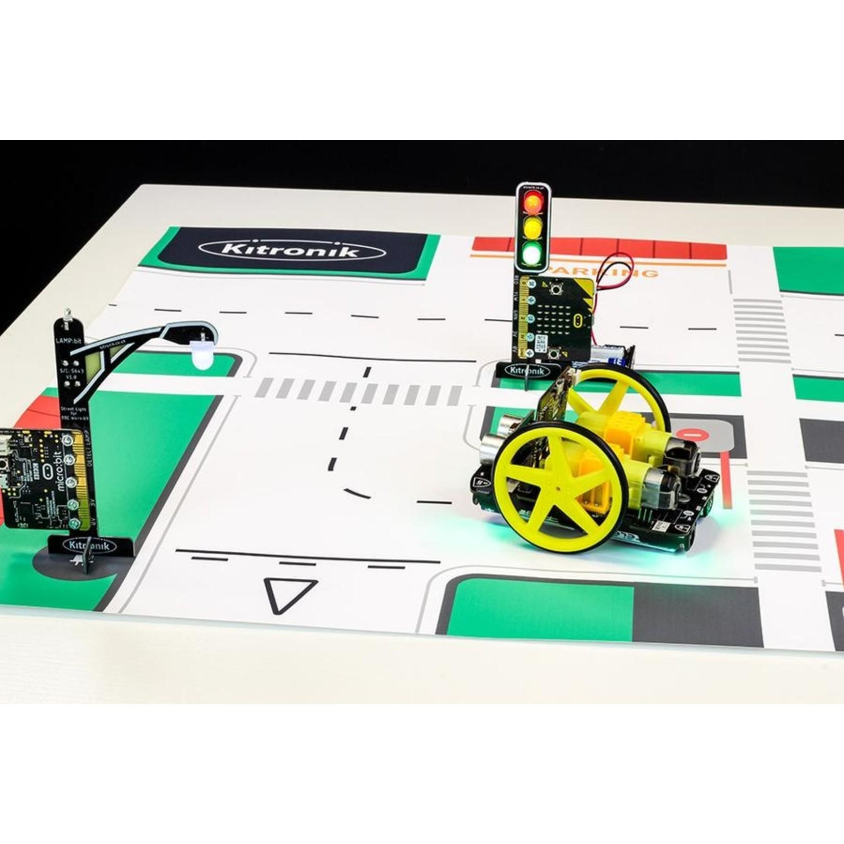 Kitronik :Move mat lijnvolg- en activiteitenkaarten - A1-formaat