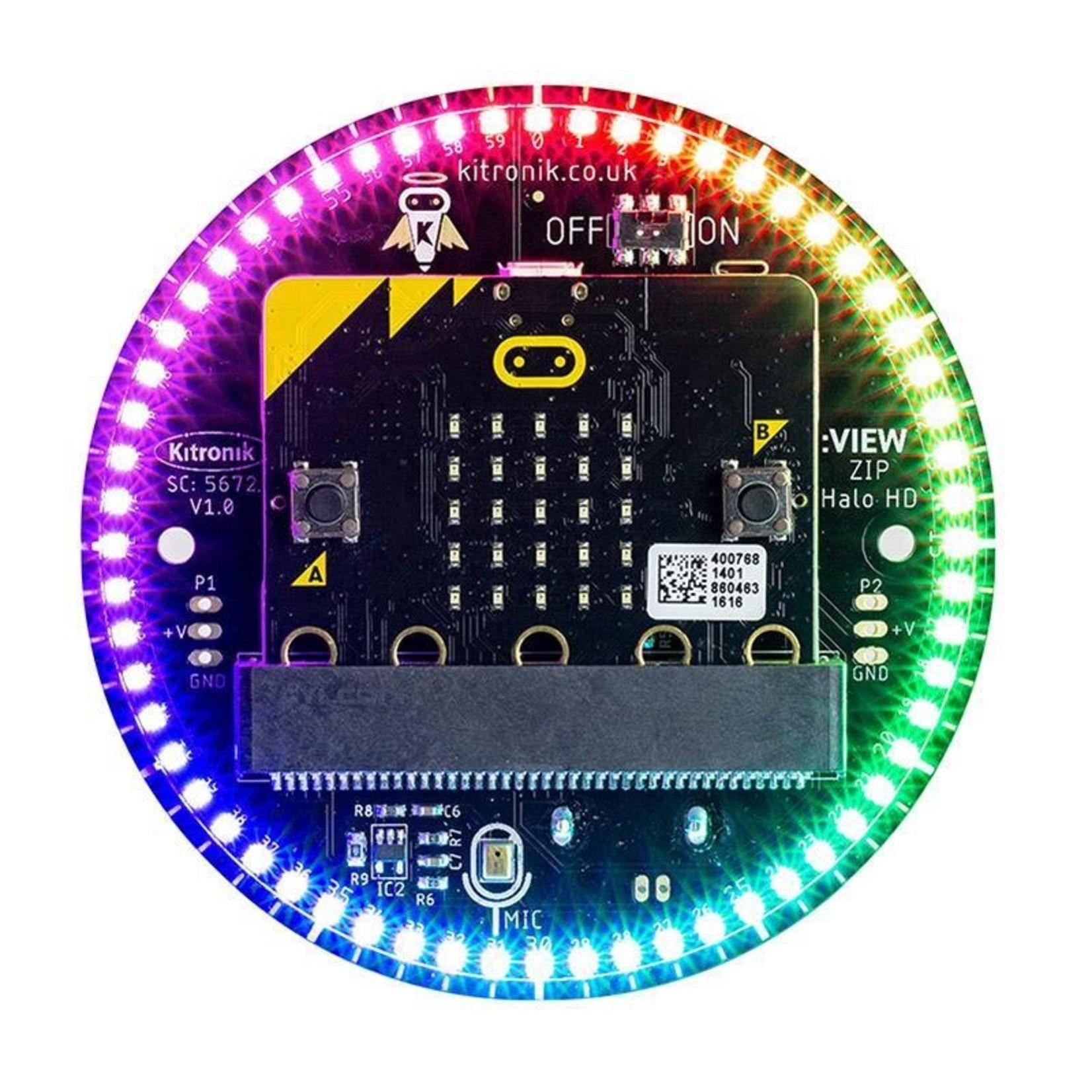 Kitronik Alarm Clock Kit with ZIP Halo HD for micro:bit