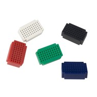 Velleman SET OF MINI BREADBOARDS - 55 TIE-POINTS - 5 pcs