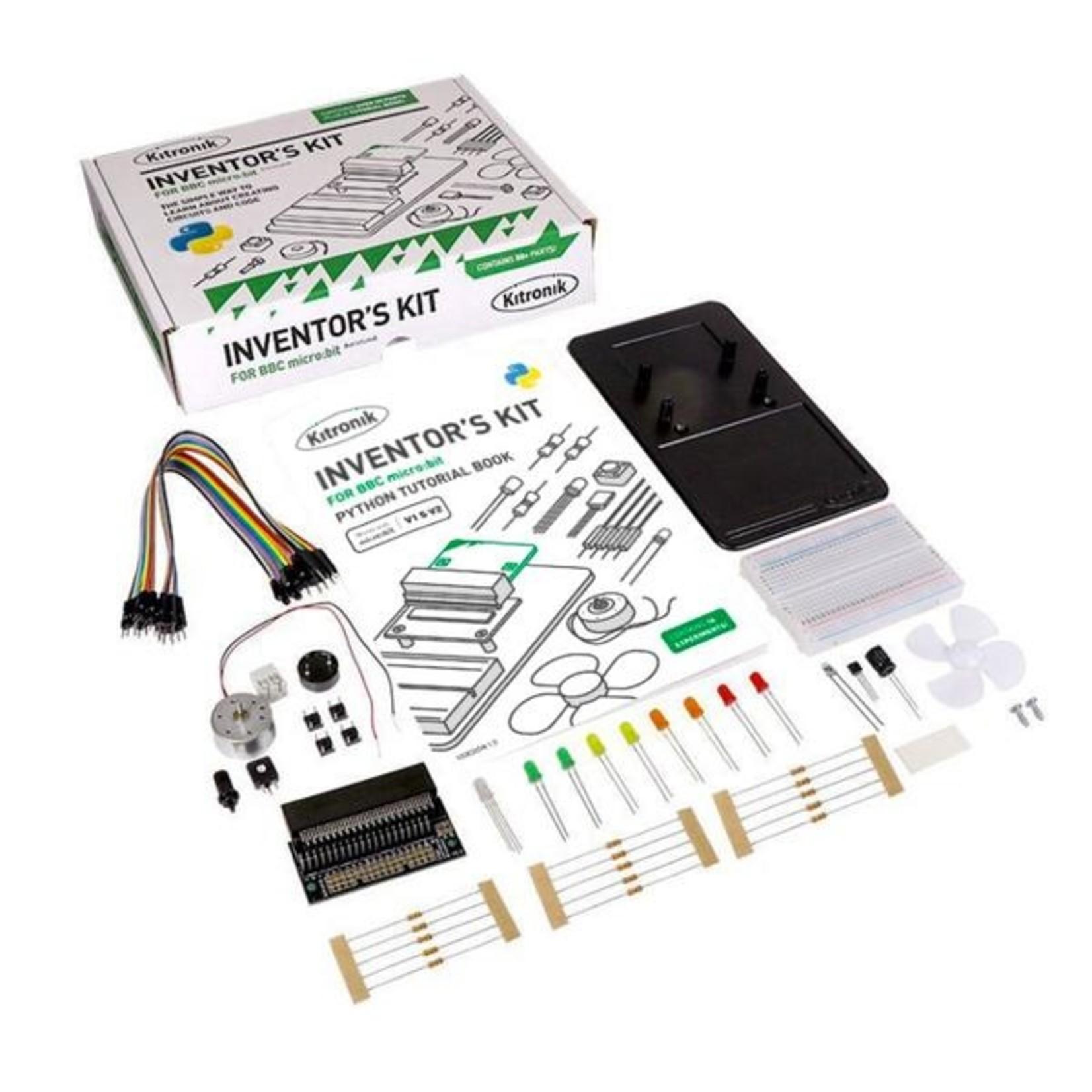 Kitronik Uitvinderskit voor BBC Micro:bit (EN) - Python version